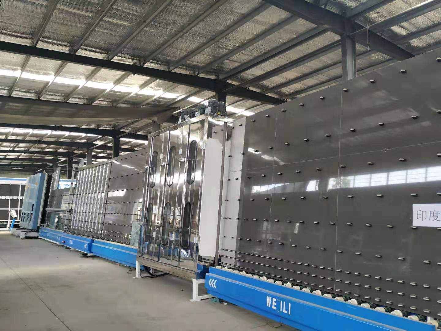 insulating glass gas filling production line