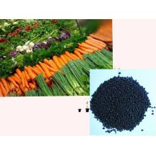 Fertilisation microbienne d'extrait d'algues à base d'engrais organique NPK