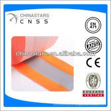 Высококачественная флуоресцентная оранжевая светоотражающая лента
