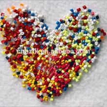 Mistura de antimicrobianos de várias cores