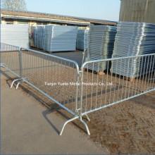 Barrières de contrôle de la foule en acier pour la barrière de sécurité PUE Control