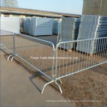 Barrera de Control de Multitudes 2.3m Cerca de Seguridad Temporal Barreras de Esgrima del Sitio