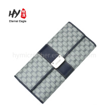 Wholesale multifunctional high quality leather money clip wallet