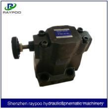Yuken válvula de alivio de presión hidráulica para espuma que hace la máquina