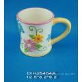 Tasse à café en céramique peinte à la main
