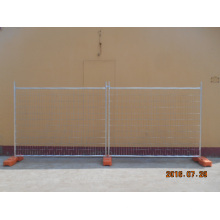 Galvanized Steel Temporary Fence for Construction Building