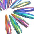 Pigmento do pavão / pigmento camaleão do laser para a arte do prego