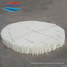 Embalagem estruturada em plástico para a torre de destilação