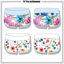 Polyester / Spandex Frauen Shorts für Sport aus China