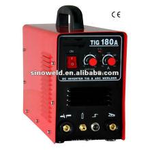 DC Inverter TIG MMA Máquinas de soldagem TIG180A