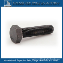 1/2*3 Inch Unc Black Oxide Carbon Steel Hexagon Cap Bolts