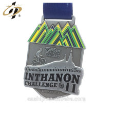Hot design custom 3D antique metal cycling medals with enamel