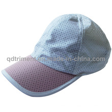 Popular Breathable Polyester Microfiber Fabric Sport Cap (TRRC001)