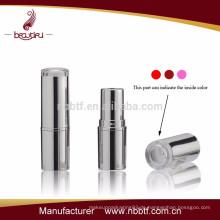 Heiß! Fabrikverkauf Kunststoff-Lippenstift-Container mit klarem Top