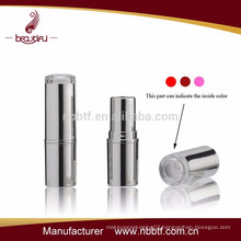 Hot! Factory sell plastic lipstick containers with clear top