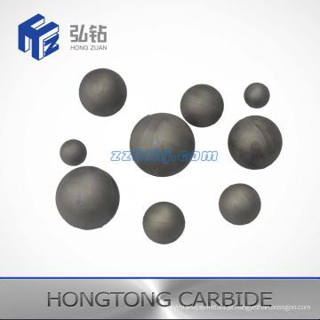 Esfera e assento de carboneto de tungstênio da série V12