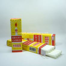8 Inch White Colour Household Candles