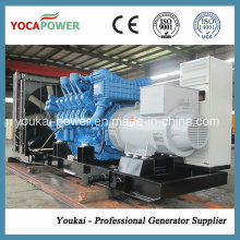 Mtu1000kw / 1250kVA Grupo de geradores diesel para serviço pesado