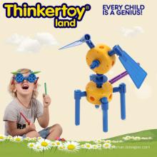 Bloques de patrón, juguetes de bricolaje, juguetes educativos para la escuela