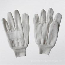 Gant de travail en coton à résistance à la chaleur à trois couches