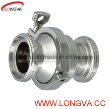 Hygienic 316L Screw Check Valve