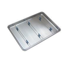 Aluminum Sheet Pan with Cooling Rack