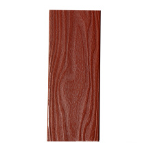 Shandong waterproof redwood color outdoor wpc decking
