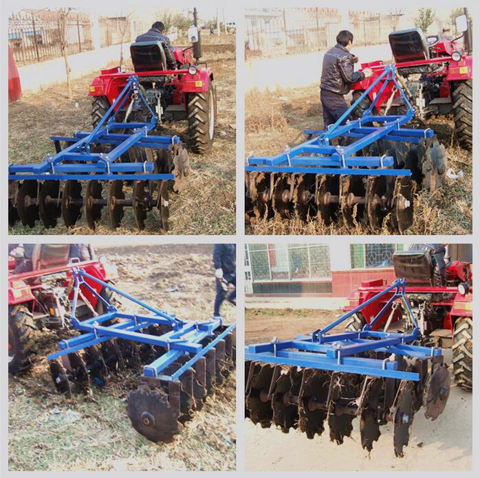 Disc Harrow Match Tractor