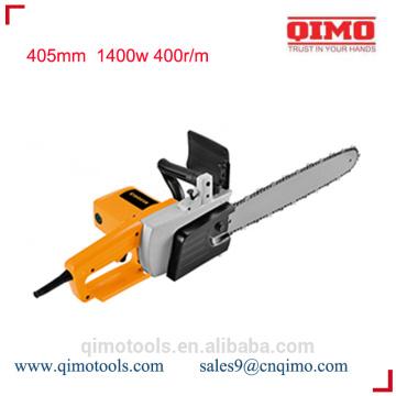Mini sierra de cadena 405mm 1400w 400r / m qimo herramientas eléctricas
