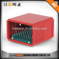 12-bay Coin Operated cell phone charging station usb tablet pc/phone charging station