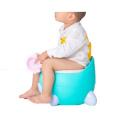 Assento de treinamento penico para bebê de plástico