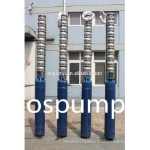 Pompe submersible de l'eau de 1.5 hp monophasé 300QH série pompe submersible en acier inoxydable multiétagée