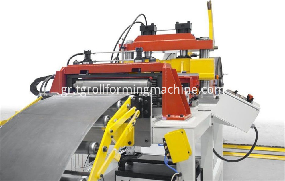 Roadway Guardrail Cold Roll Forming Machine