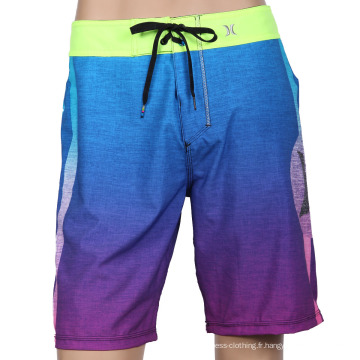 Sublimation Mens Board Shorts Beach Surf Pantalons Surf Shorts