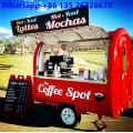 Мобильный прицеп для пищевых продуктов для кофе