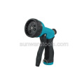 Multi-pattern front trigger plastic spray gun