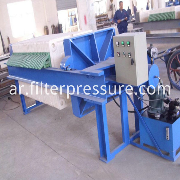 Food Chamber Filter Press