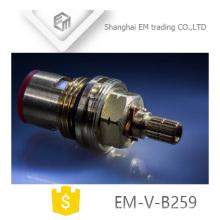 EM-V-B059 Fast Open gute Qualität Messingpatronen für Armaturen Keramikscheibe blau Gummidichtung