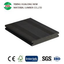 Decking de alta calidad de WPC para el compuesto plástico de madera al aire libre (HLM166)