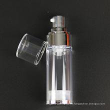 Botella cosmética Pearl White con bomba Airless (NAB37)
