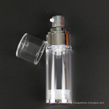 Pearl White Cosmetic Bottle with Airless Pump (NAB37)
