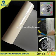 camiseta de transferencia de calor reflectante imprimible vinilo