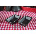 Tableware set matt black