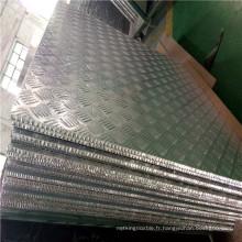 3003h24 Panneaux de plancher sandwich en alliage d'aluminium en nid d'abeille