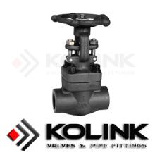 Válvula de compuerta de acero forjado (Z11H)