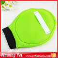 grooming bath glove for dog