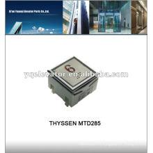 Bouton d'ascenseur Thyssen MTD285