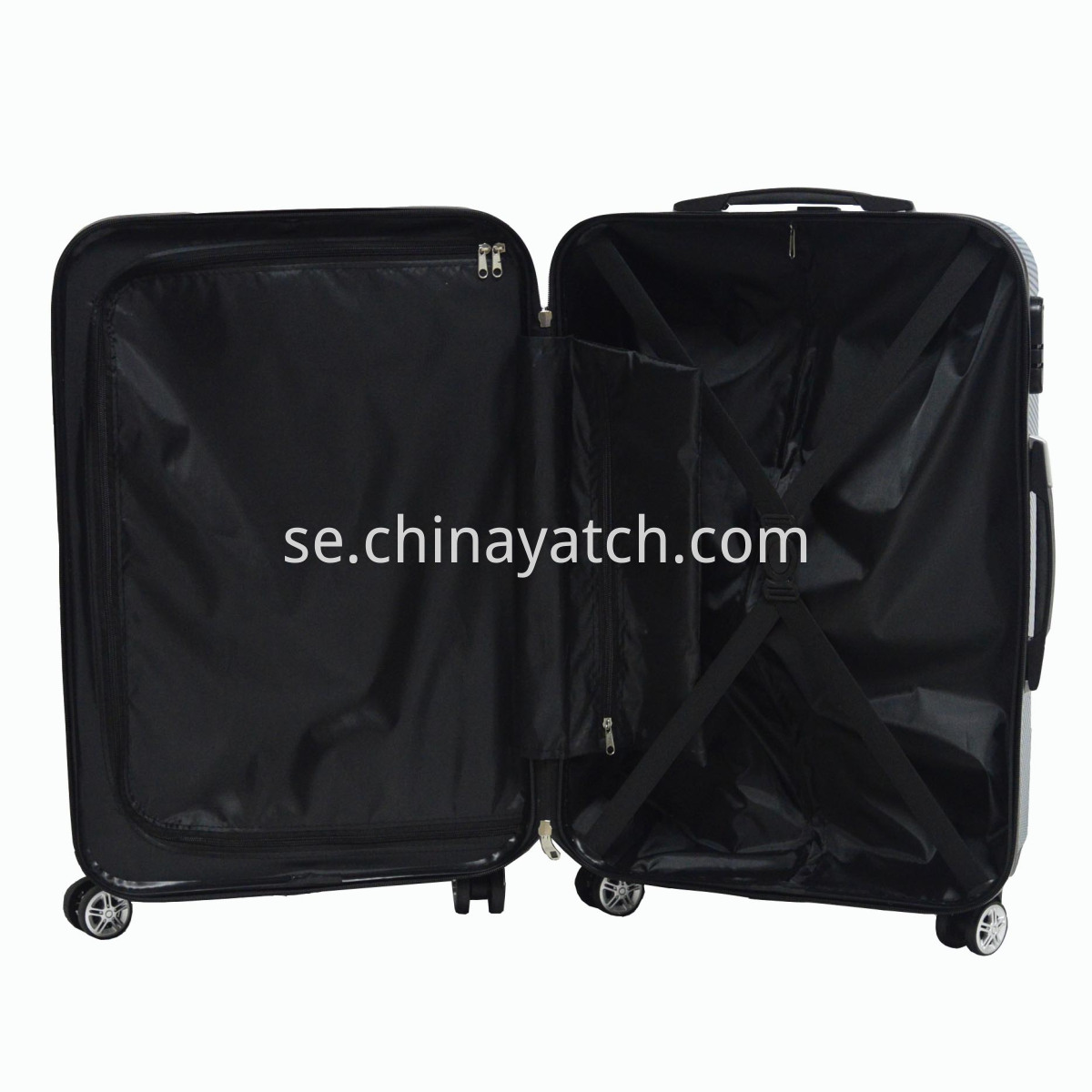 Glossy PC Luggage Set