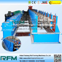 Highway guardrail making machine and barrier forming machine
