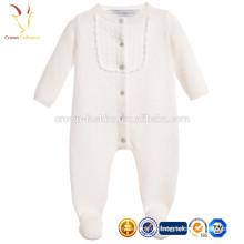 Plain Gestrickte Baby Cashmere Babyausstattung